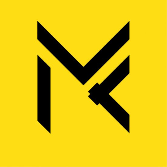 MK Monogram Logo- Einfach Digital