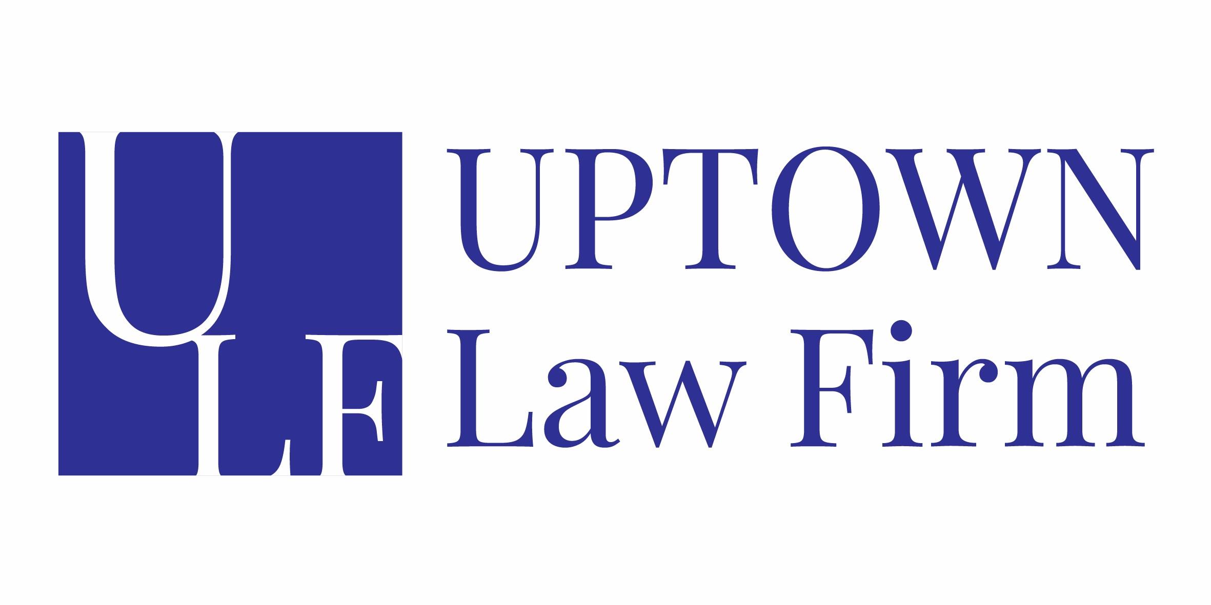 Uptown Law Firm Logo- Einfach Digital