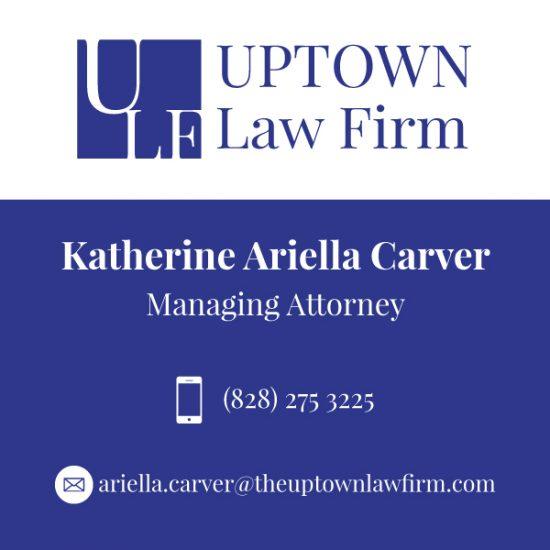 Uptown Law Firm Visitng Card- Einfach Digital