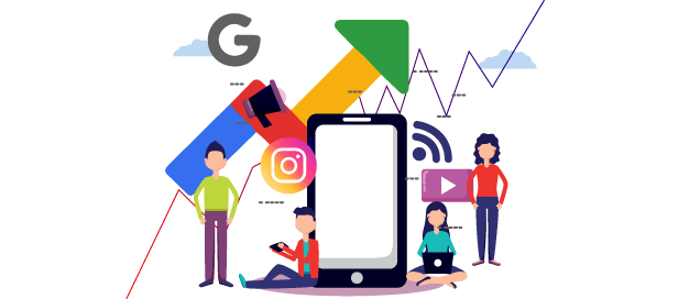 Google trends for social media engagement